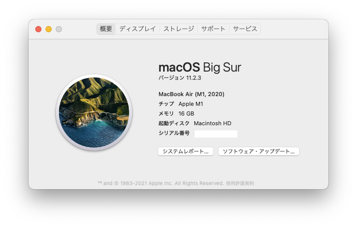 macOS Big Sur 11.2.3